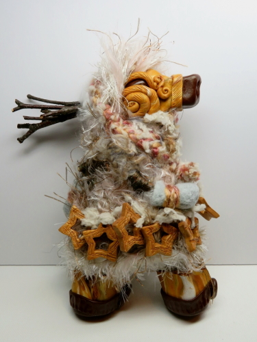 New! Glad Reindeer Goddess