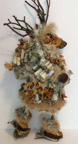 Reindeer Goddess & Antler Amulets