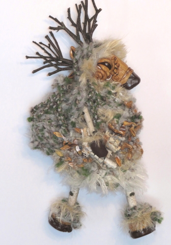 Reindeer Goddess & Birch Scroll