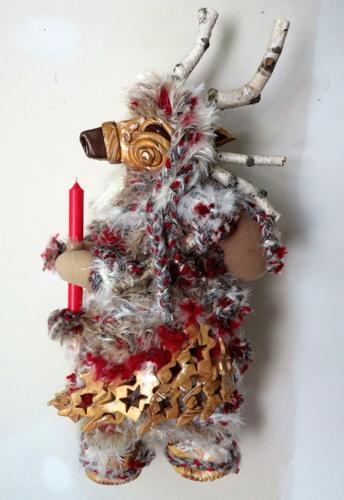 Reindeer Goddess & Candle
