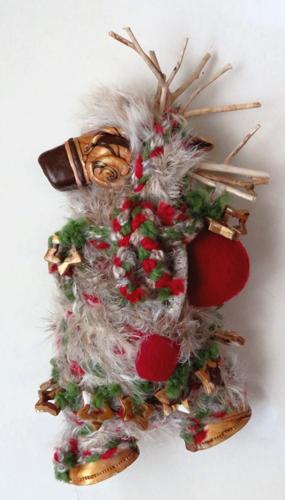 Back-Packing Reindeer Goddesss