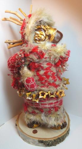 Red Reindeer Goddess Rises
