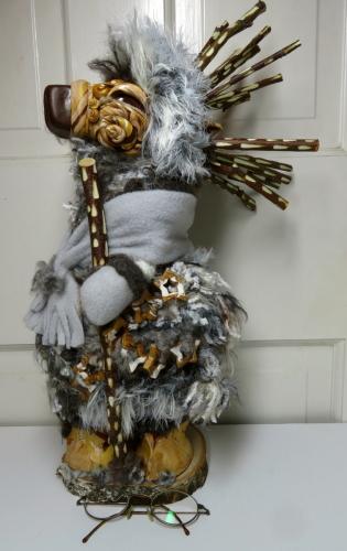 Grey Reindeer Goddess Remembers