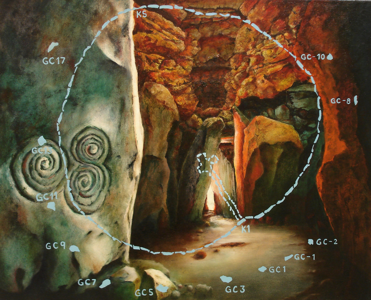 Newgrange Chamber (large view)