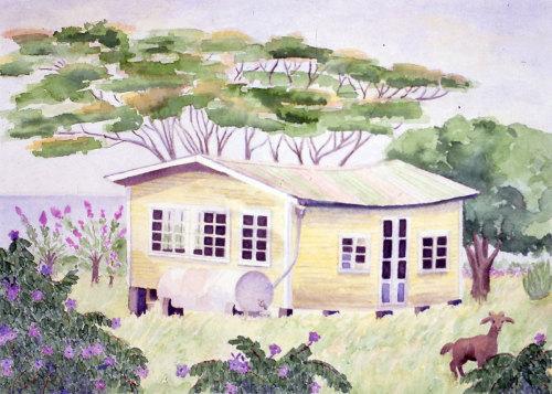 Island House Series: Sea View #2