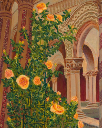 Hallowed Spaces Series - Monreale Cloister