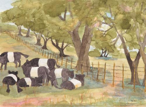 Oreo Cows, Stonewall, TX