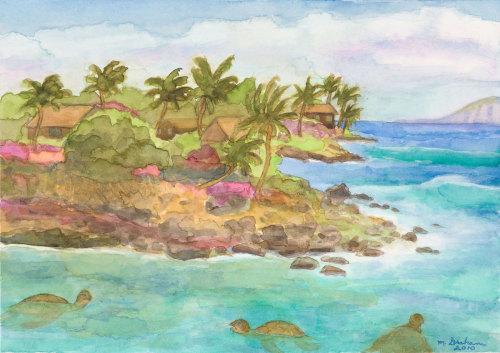 Maui Green Sea Turtles