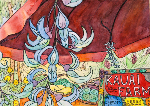 Kauai Market by Mary Muskus Graham