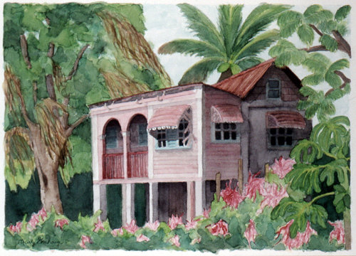 Island House Series: Hillsbrough, Carriacou #1