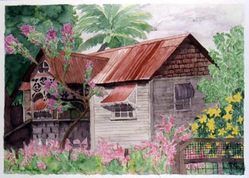 Island House Series, Hillsbrough, Carriacou #2