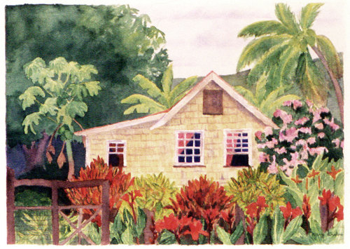 Island House Series: Windward, Carriacou