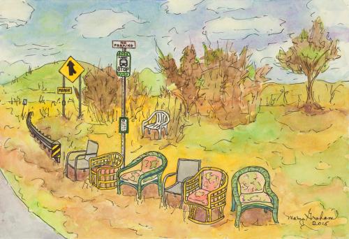 Poipu Bus Stop