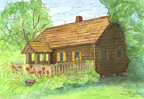 Lithuanian Cottage