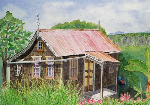 Island House Series: Windward #2, Carriacou