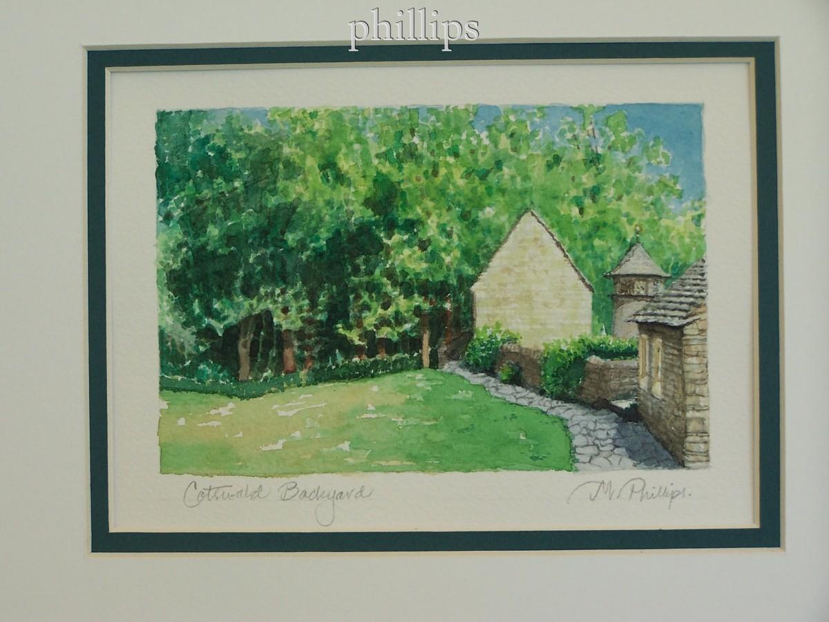 Cotswald Cottage Backyard--Greenfield Village (large view)