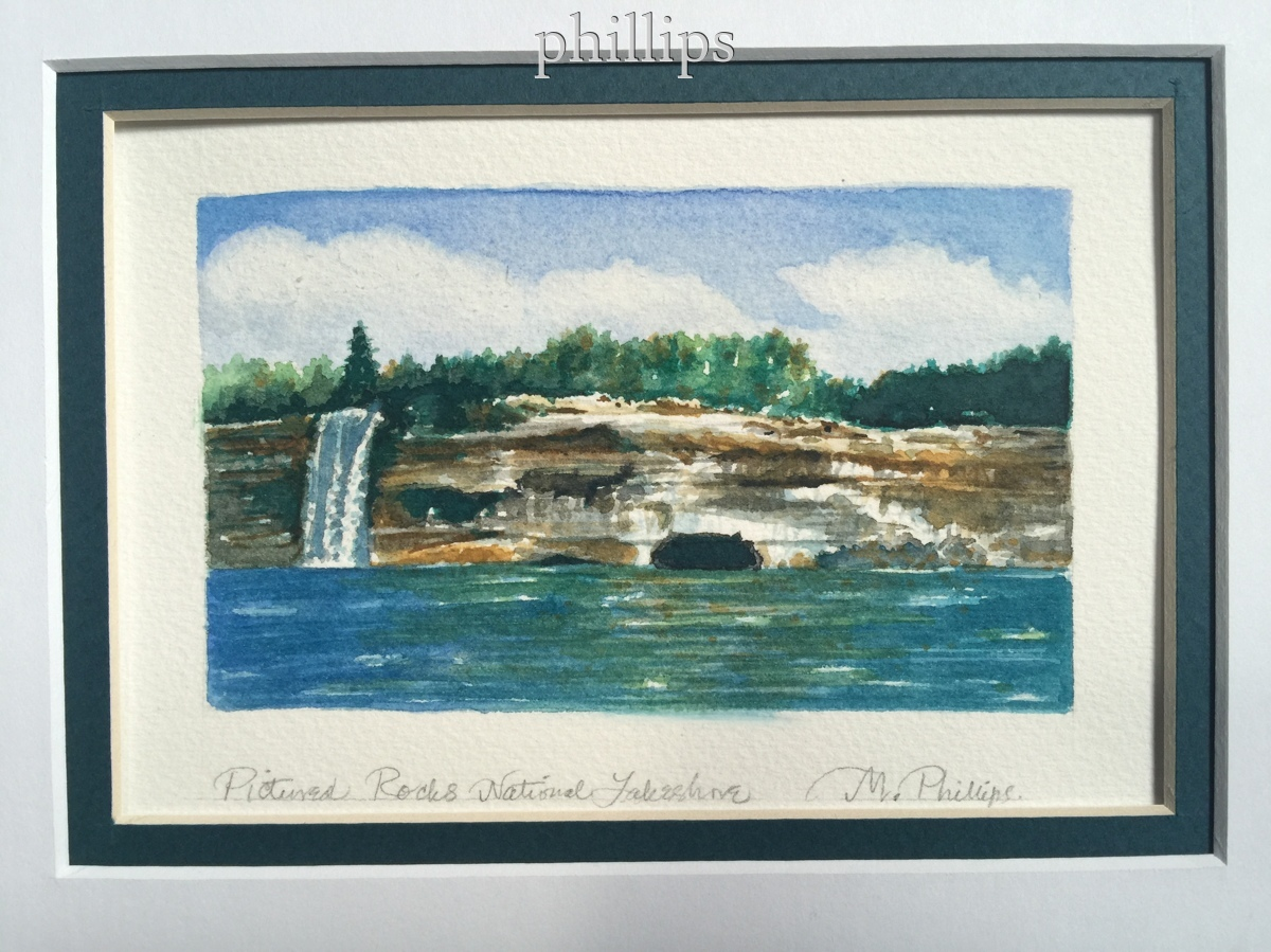 Pictured Rocks National Lakeshore (large view)