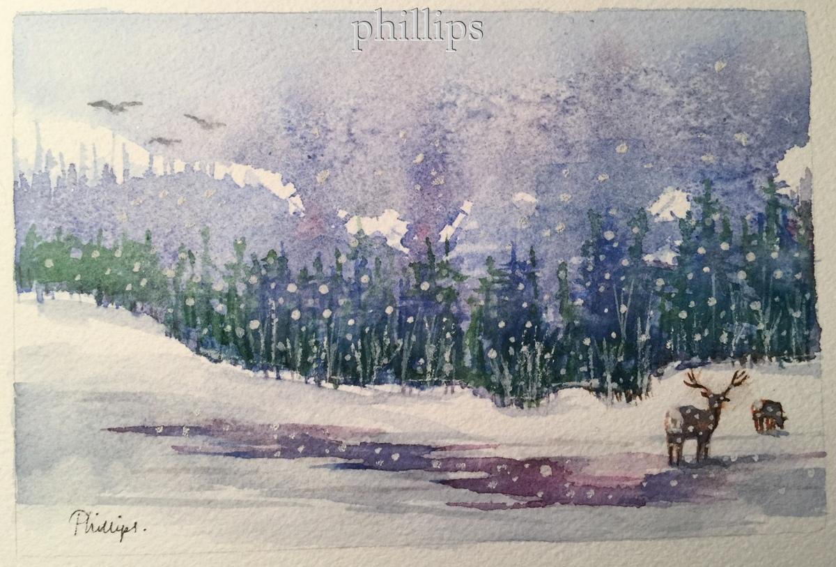 Snowfall #1 (large view)