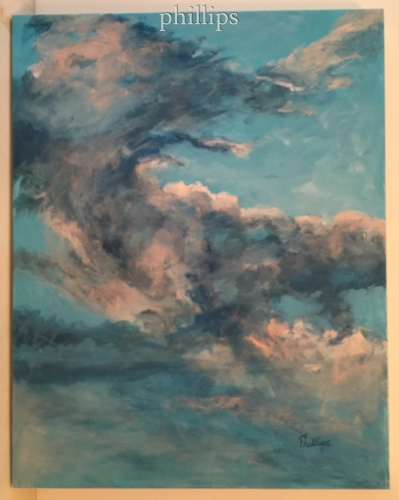 Summer Early Evening Sky #1 by Mary E. Phillips
