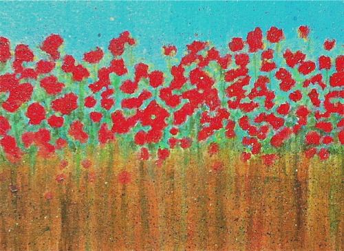 Omi's Poppies