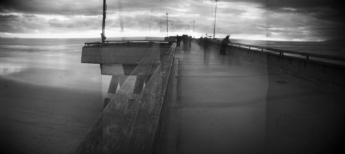 Venice Pier- Winter Panorama