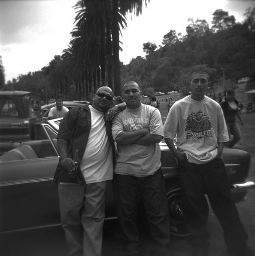 Homies at the Lowrider Picnic