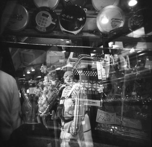 Music Store Reflection
