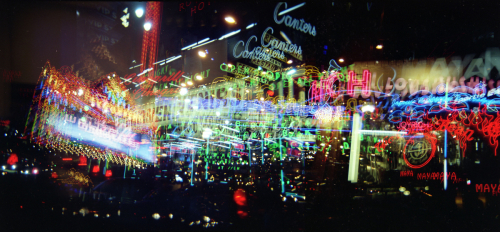 Hollywood Neon Panorama
