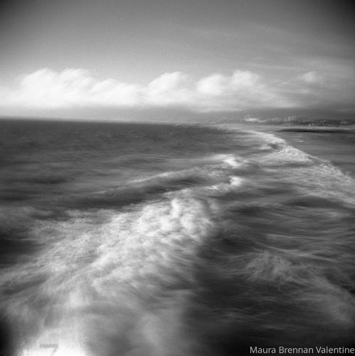 Venice Pier Wave View