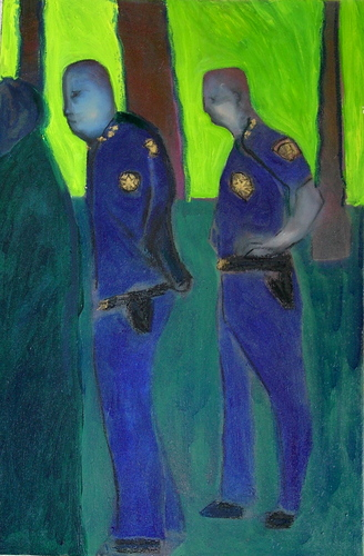 cops by Marc Awodey