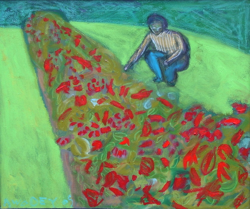 flower garden by Marc Awodey
