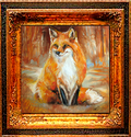 RED FOX FOXY by M BALDWIN (thumbnail)