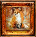 RED FOX FOXY by M BALDWIN (thumbnail)