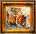 SUNDANCE & MOONBEAM No.2 by M BALDWIN (thumbnail)