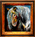 FRIESIAN BLACK by M BALDWIN (thumbnail)