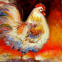 DOWN on the FARM ROOSTER & CHICKEN (thumbnail)