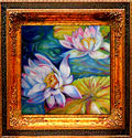 WATERLILIES by M BALDWIN (thumbnail)