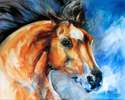 THE BAY STALLION by M BALDWIN (thumbnail)