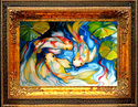 KOI THREE by M BALDWIN (thumbnail)