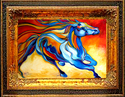 STORMY an Equine Abstract (thumbnail)