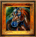 QUARTER HORSE ~ by M BALDWIN (thumbnail)