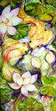GOLDEN POND KOI  2 ~ by M BALDWIN (thumbnail)