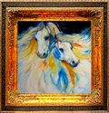 THE DREAMERS ~ EQUINE ART by M BALDWIN (thumbnail)