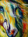 CHASING STORMS EQUINE ABSTRACT  (thumbnail)
