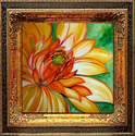 ORANGE DAHLIA (thumbnail)
