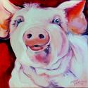 MOLLY ~ the PINK PIG (thumbnail)