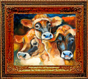 DINNER TIME YET ?? ~  JERSEY COWS (thumbnail)
