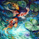 DANICING COLORS KOI (thumbnail)