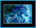 Painting--Oil-AbstractMIDNIGHT RUN