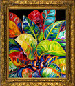 TROPICAL ABSTRACT by M BALDWIN (thumbnail)